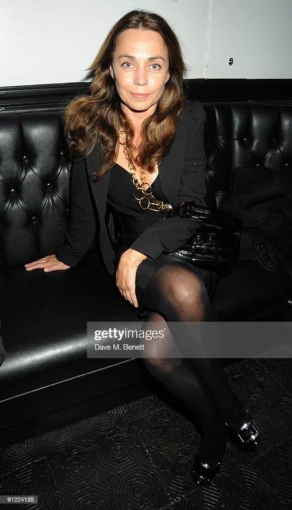 Jeanne Marine attends the afterparty following the press night of 'Speaking In Tongues', at the Jewell Bar on September 28, 2009 in London, England.