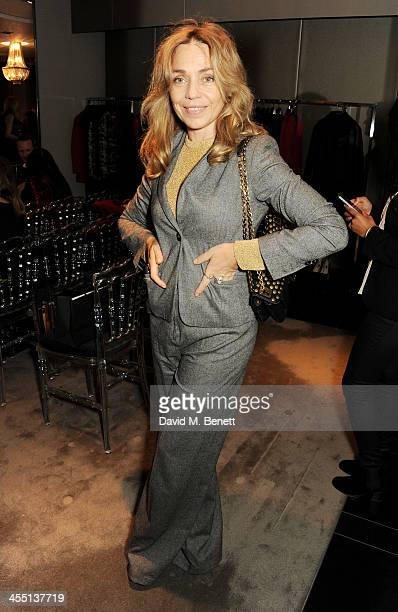 Jeanne Marine attends the ESCADA/Harper's Bazaar book reading with Fatima Bhutto reading from her novel The Shadow Of The Crescent Moon at the ESCADA...
