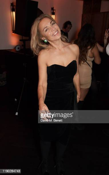 Jeanne Marine attends the launch Party of The Biltmore Mayfair LXR Hotels Resorts and The Betterment by Jason Atherton on November 26 2019 in London...