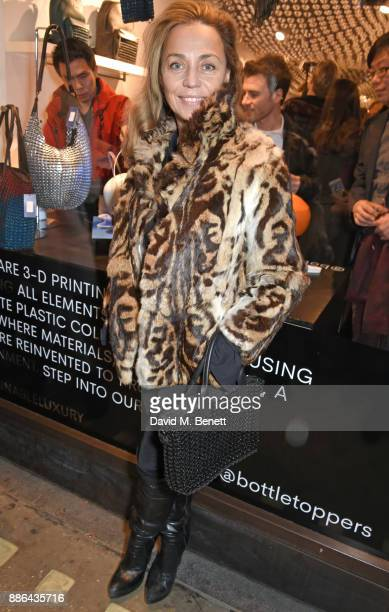 Jeanne Marine attends the opening of the BOTTLETOP flagship store on Regent Street on December 5 2017 in London England