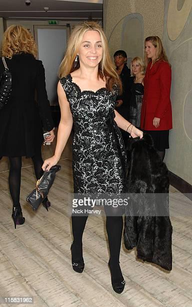 Jeanne Marine during Virgin Unite host End Fistula Fundraising event Inside at Nobu Berkeley in London Great Britain