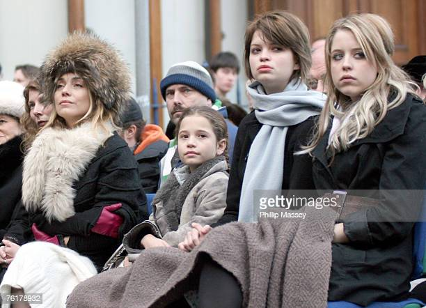 Jeanne Marine with Tiger Lily Pixie and Peaches Geldof