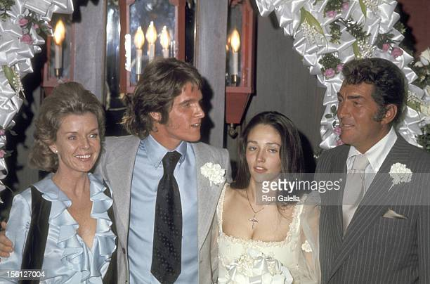 Jeanne Martin Actors Dean Paul Martin and Olivia Hussey and Actor/Singer Dean Martin attend the Wedding of Dean Paul Martin and Olivia Hussey on...