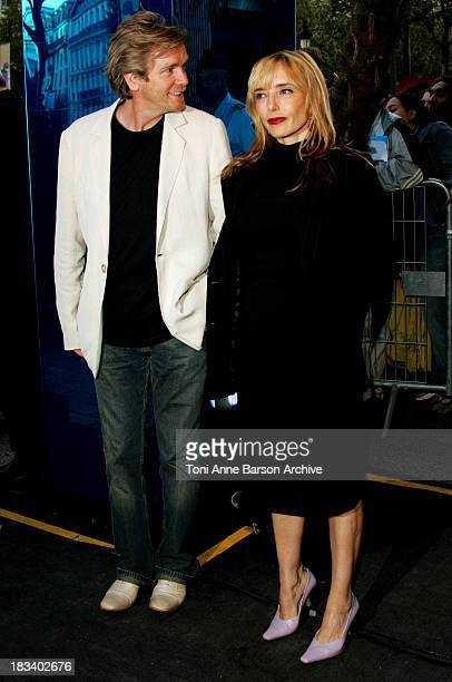 Jeanne Mas and guest during Collateral Premiere Paris at UGC Normandy in Paris France