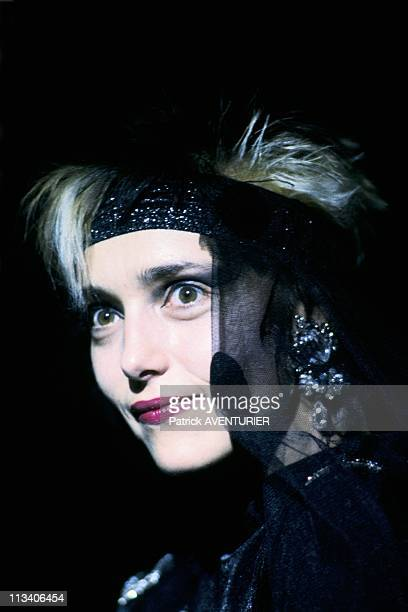 Jeanne Mas At The Olympia Paris On October 17th 1985 In ParisFrance