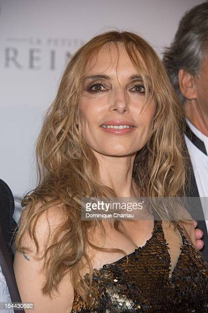 Jeanne Mas attends the 'Stars 80' Film Premiere at Le Grand Rex on October 19 2012 in Paris France