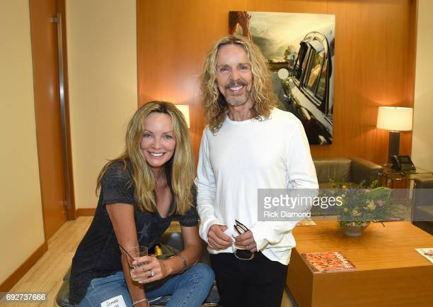 Jeanne Mason and Tommy Shaw attend the 25th Annual CAA BBQ in Nashville at CAA Nashville on June 5, 2017 in Nashville, Tennessee.