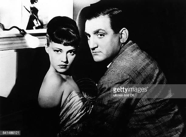 Jeanne Moreau * Schauspielerin Frankreichmit Lino Ventura in dem Film Wenn es Nacht wird in ParisRegie Jacques BeckerFrankreich/Italien 1954