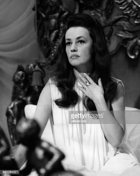 Jeanne Moreau *- Schauspielerin, FrankreichPorträt- 1967