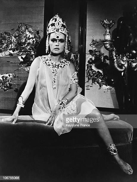 Jeanne Moreau As Mata Hari In 1964