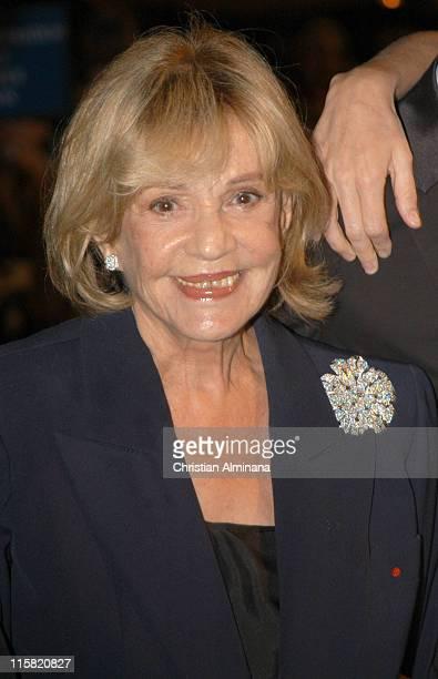 Jeanne Moreau during 2005 Cannes Film Festival 'La Temps Qui Reste' Premiere in Cannes France