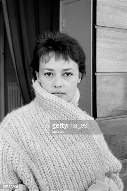 Jeanne Moreau French comedienne Paris September 30 1959 LIP34068028