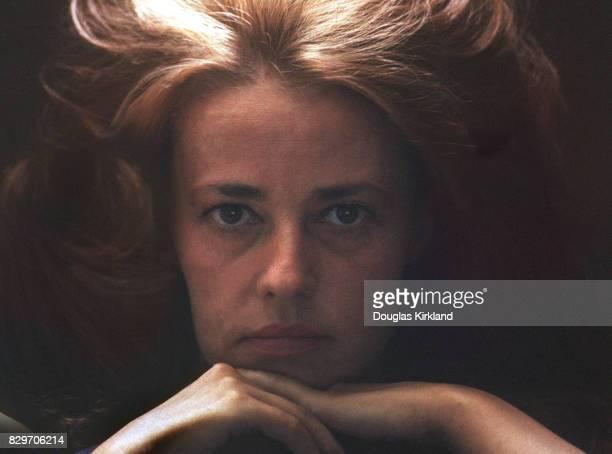 Jeanne Moreau in Cuernavaca Mexico 1965