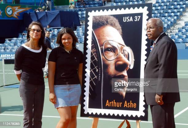 Jeanne Moutoussamy Ashe Camera Ashe and Henry A Pankey vice president Emergency Preparedness of the United States Postal Service