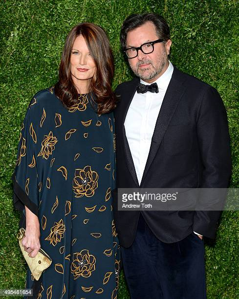 Jeanne Reid and Billy Reid attend the 12th annual CFDA/Vogue Fashion Fund Awards at Spring Studios on November 2, 2015 in New York City.
