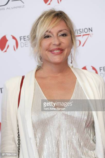 Jeanne Savary arrives at the Opening Ceremony of the 57th Monte Carlo TV Festival and World premier of Absentia Serie on June 16 2017 in MonteCarlo...