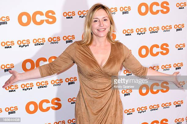 Jeanne Savary attends the 'QI' Premiere at Forum Des Images on April 4 2013 in Paris France