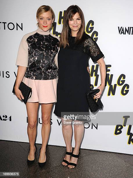 Jeanne Tripplehorn and Chloe Sevigny arrives at the The Bling Ring Los Angeles Premiere at Directors Guild Of America on June 4 2013 in Los Angeles...
