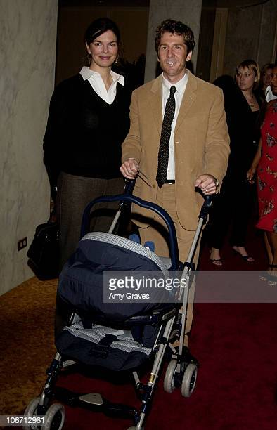 Jeanne Tripplehorn and family during Lullabies and Luxuries Luncheon Benefiting Caring for Children and Families with AIDS at Regent Beverly Wilshire...