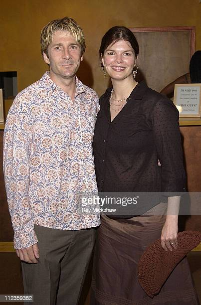 "Jeanne Tripplehorn and guest during ""The Guys"" Opening Night Benefit Performance at The Actors' Gang Theater in Hollywood, California, United States."