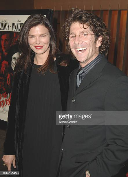 Jeanne Tripplehorn and Leland Orser during 'The Good German' Los Angeles Premiere Arrivals at Egyptian Theatre in Hollywood California United States