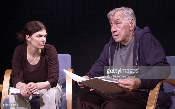Jeanne Tripplehorn and Philip Baker Hall star in the Actors' Gang staged reading of Anne Nelson's play