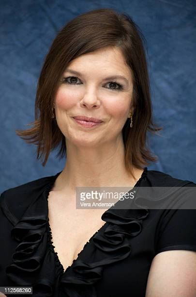 Jeanne Tripplehorn at the Big Love press conference at the Four Seasons Hotel on April 21 2009 in Beverly Hills California