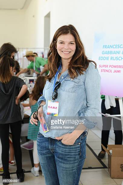 Jeanne Tripplehorn attends Hammer Museum KAMP 2014 on May 18 2014 in Los Angeles California