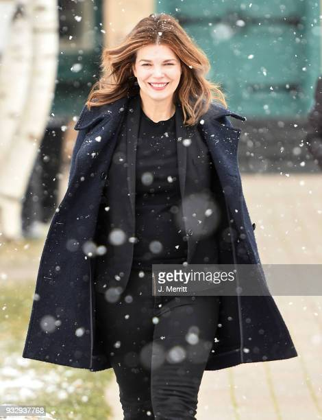 Jeanne Tripplehorn attends the 2018 Sun Valley Film Festival - Coffee Talk with Jeanne Tripplehorn on March 16, 2018 in Sun Valley, Idaho.