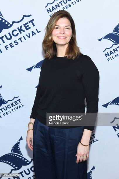 Jeanne Tripplehorn attends the 'We Only Know So Much' screening at the 2018 Nantucket Film Festival - Day 2 on June 21, 2018 in Nantucket,...