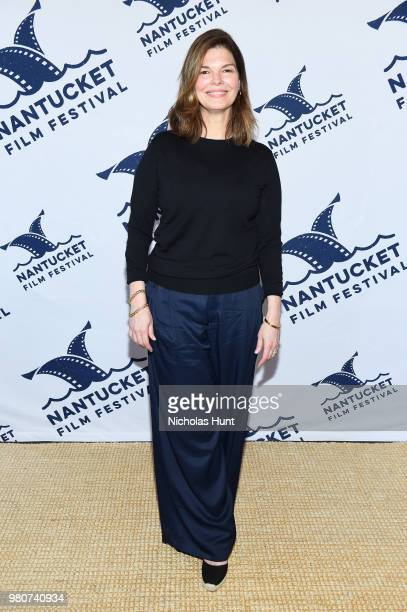 Jeanne Tripplehorn attends the 'We Only Know So Much' screening at the 2018 Nantucket Film Festival Day 2 on June 21 2018 in Nantucket Massachusetts