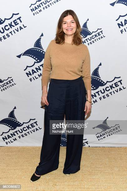 Jeanne Tripplehorn attends Women Behind the Words at the 2018 Nantucket Film Festival Day 4 on June 23 2018 in Nantucket Massachusetts