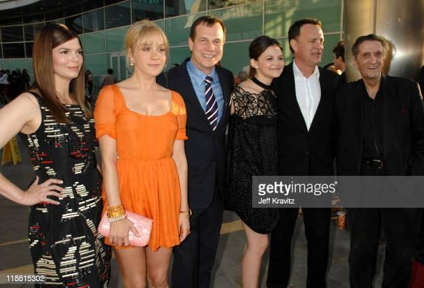 Jeanne Tripplehorn, Chloe Sevigny, Bill Paxton, Ginnifer Goodwin, Tom Hanks, executive producer and Harry Dean Stanton
