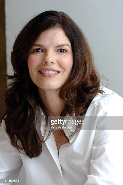 "Jeanne Tripplehorn during ""Big Love"" Press Conference with Bill Paxton, Jeanne Tripplehorn, Chloe Sevigny and Ginnifer Goodwin at Four Seasons in..."