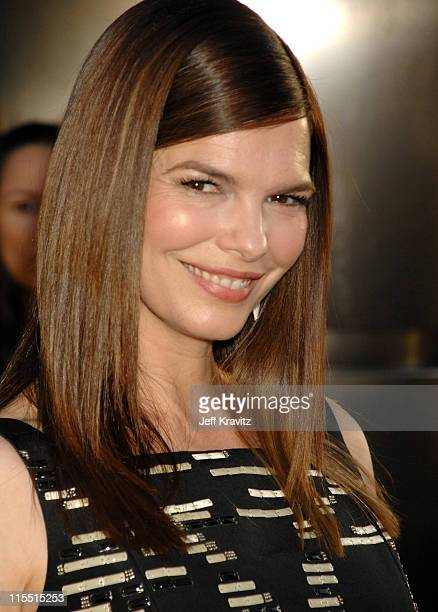 """Jeanne Tripplehorn during """"Big Love"""" Season Two Premiere - Red Carpet at Arclight Cinerama Dome in Hollywood, California, United States."""