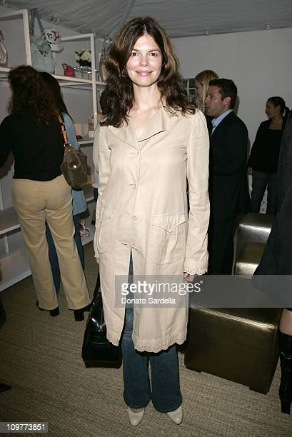 Jeanne Tripplehorn during Coach Flagship Store Opening on Rodeo Drive at Coach Store in Beverlry Hills California United States
