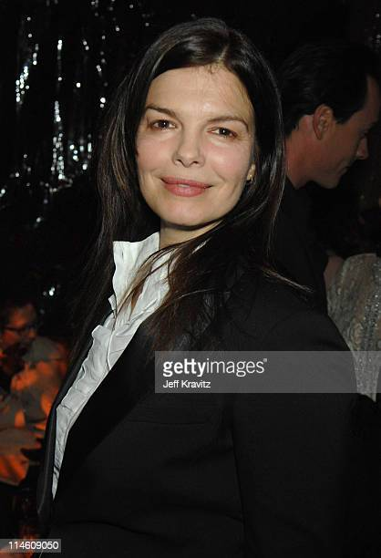 Jeanne Tripplehorn during HBO 2007 PreGolden Globes Party at Chateau Marmont in Los Angeles California United States