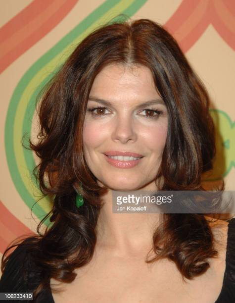 Jeanne Tripplehorn during HBO Golden Globes After Party Arrivals at Beverly Hilton Hotel in Beverly Hills California United States