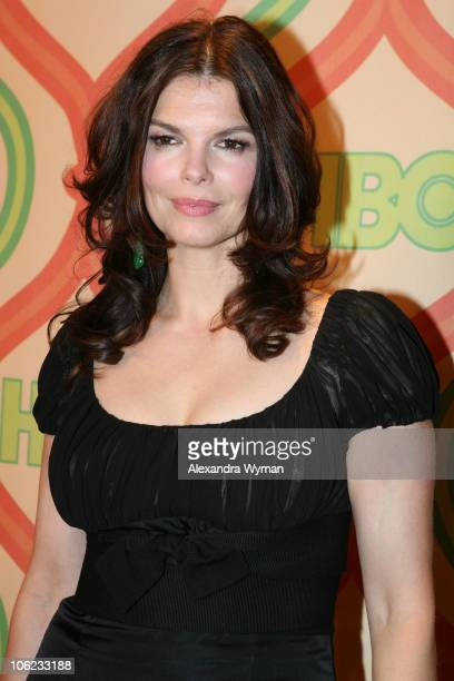 Jeanne Tripplehorn during HBO's 2007 Golden Globe After Party at Beverly Hilton in Beverly Hills, California, United States.