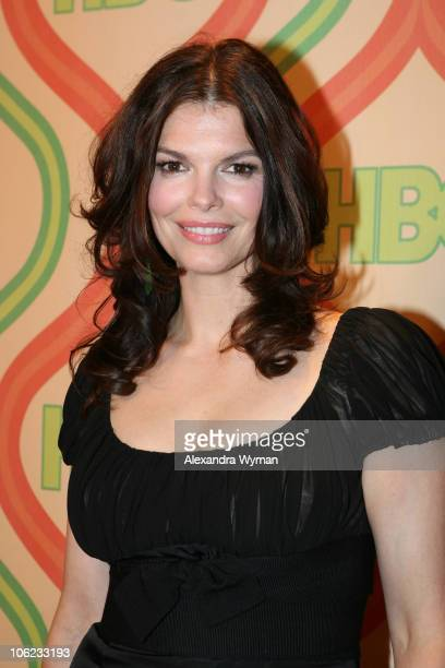 Jeanne Tripplehorn during HBO's 2007 Golden Globe After Party at Beverly Hilton in Beverly Hills California United States
