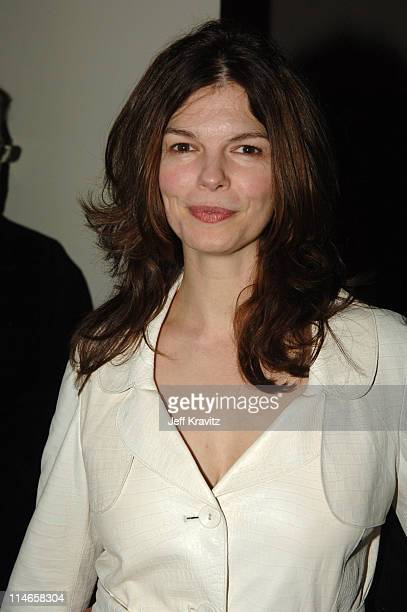 Jeanne Tripplehorn during HBO's Annual PreGolden Globes Private Reception at Chateau Marmont in Los Angeles California United States
