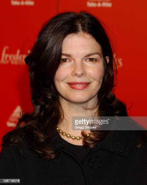 Jeanne Tripplehorn during Smashbox Fashion Week Los Angeles - Frederick's of Hollywood Fashion Show Fall 2003 Collection to benefit Expedition...