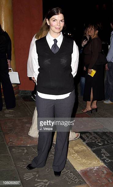 """Jeanne Tripplehorn during """"Swept Away"""" Screening at Vista Theatre in Los Angeles, California, United States."""