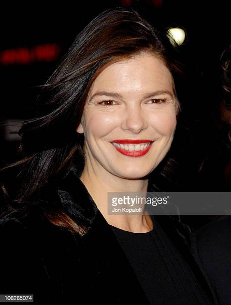 "Jeanne Tripplehorn during ""The Good German"" Los Angeles Premiere - Arrivals at Egyptian Theater in Hollywood, California, United States."