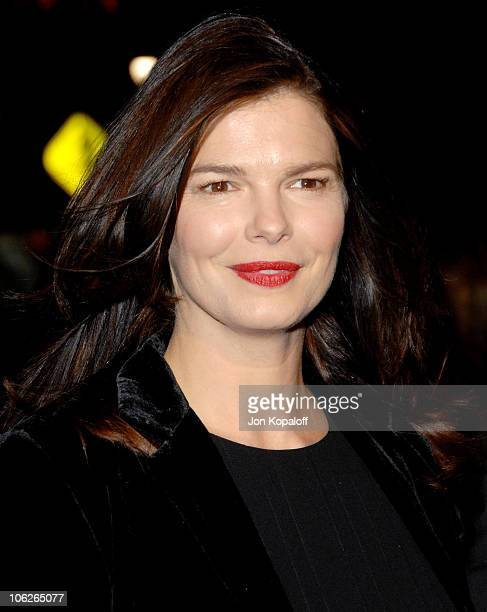Jeanne Tripplehorn during The Good German Los Angeles Premiere Arrivals at Egyptian Theater in Hollywood California United States