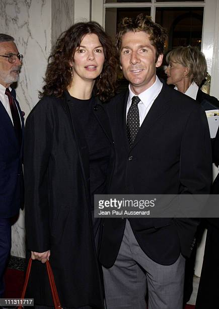 Jeanne Tripplehorn husband Leland Orser during AFI Fourth Annual 'Platinum Circle Award' at Regent Beverly Wilshire Hotel in Beverly Hills California...