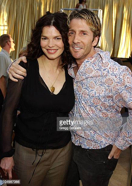 Jeanne Tripplehorn husband Leland Orser during Austin Powers In Goldmember Premiere at Universal Amphitheatre in Universal City California United...