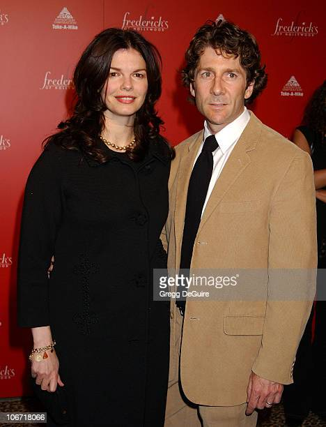 Jeanne Tripplehorn Husband Leland Orser during Smashbox Fashion Week Los Angeles Frederick's of Hollywood Fashion Show Fall 2003 Collection to...