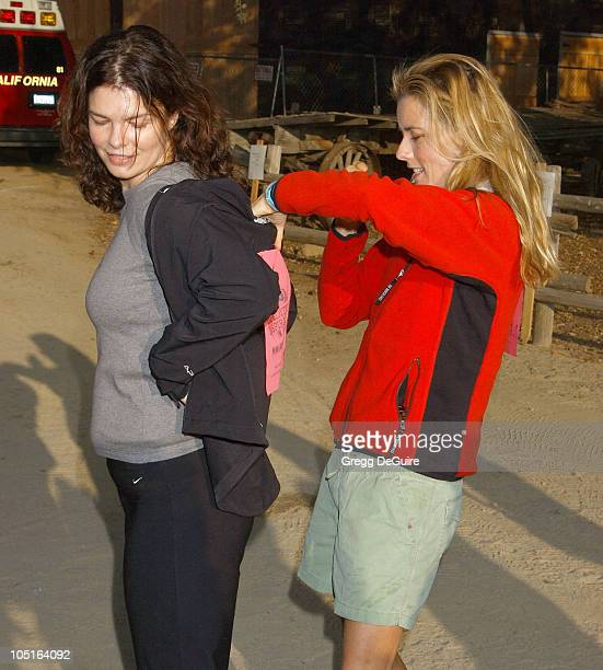 Jeanne Tripplehorn Tea Leoni during 8th Annual Expedition Inspiration TakeAHike at Paramount Ranch in Agoura California United States