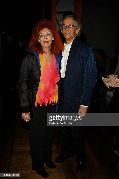 JeanneClaude and Christo attend BAM 2006 Next Wave Gala at BAM on December 12 2006 in Brooklyn NY